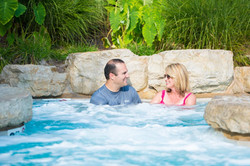 Hot tub at Still Waters Resort