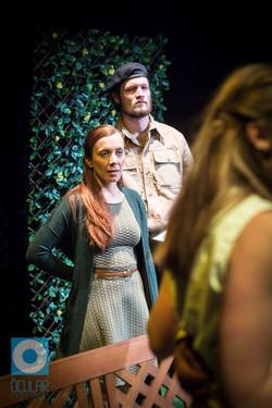 Cornelia Baumann as Emilia & Pearce Sampson as Iago