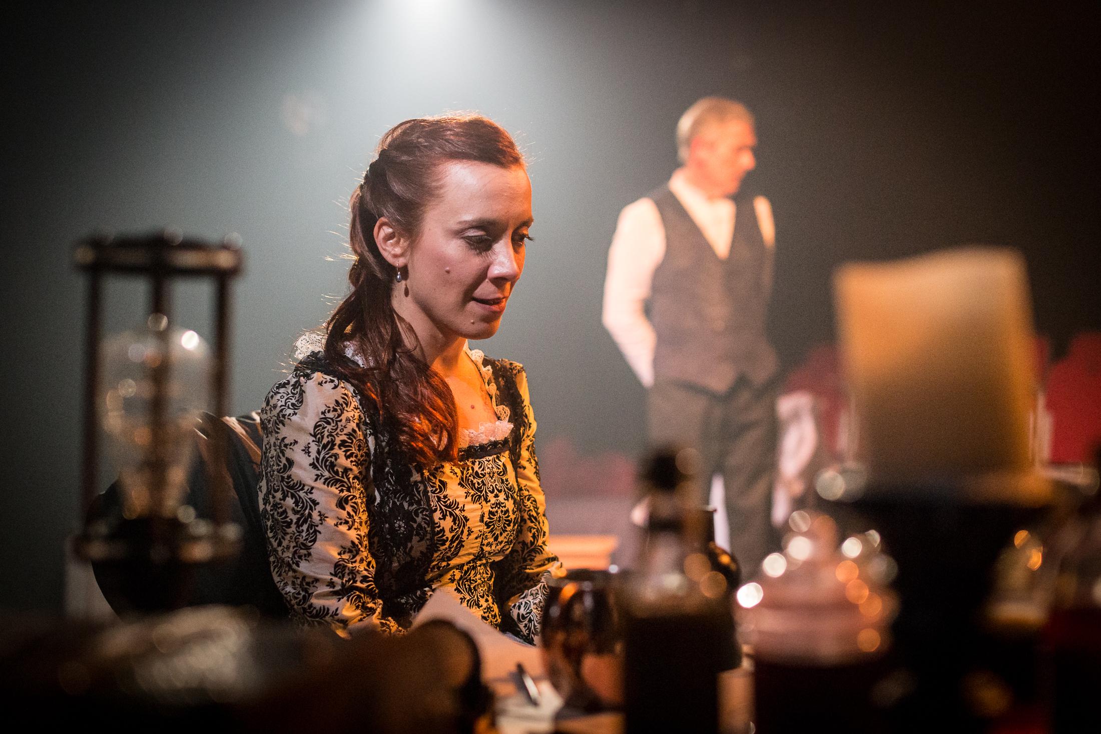 Cornelia Baumann as Mary Shelley