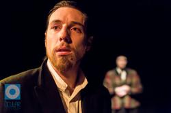 Christopher Tester as Raskolnikov