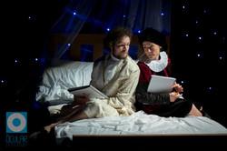 Pearce Sampson as Orsino & Pippa Caddick as Viola