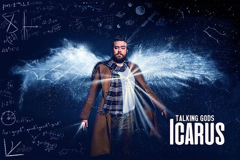 Icarus Poster (Blue tint)- with Title.jp
