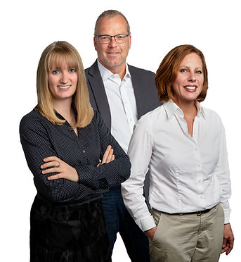 Sample of three individual subjects combined into a group shot.