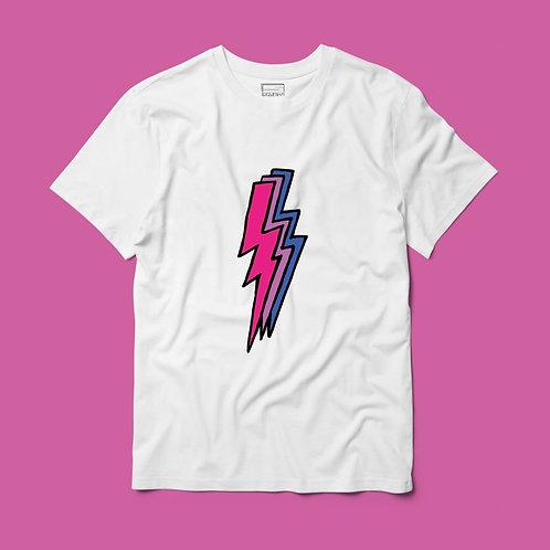 Camiseta Rayo Bisexual Centro