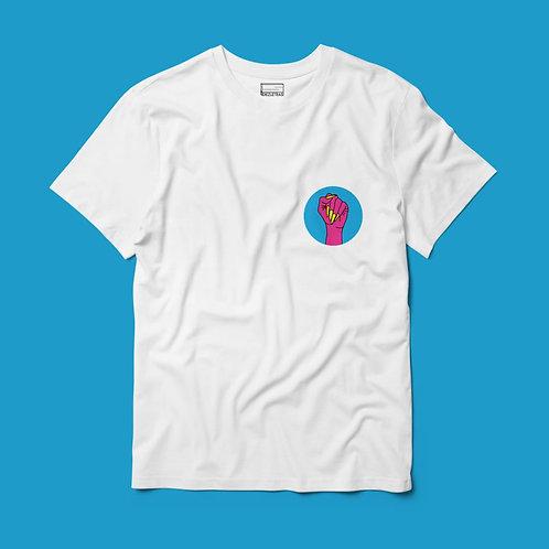 Camiseta Puño Pansexual Bolsillo