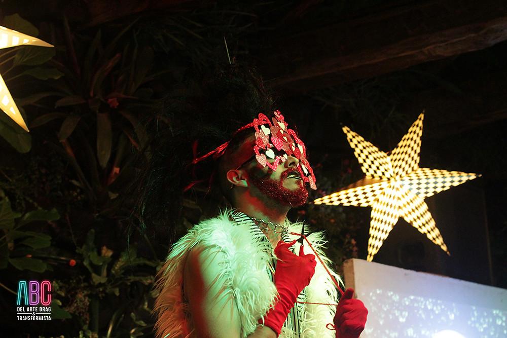 Adana Quing, drag queen performing