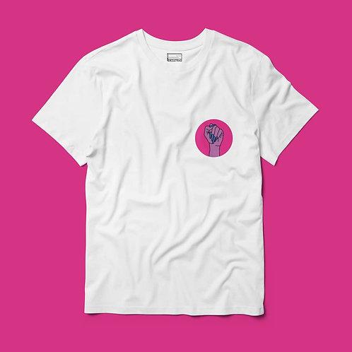 Camiseta Puño Bisexual Bolsillo