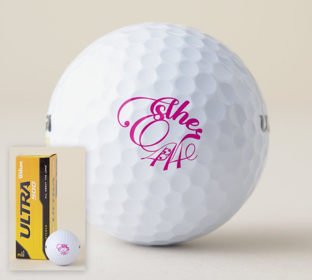 Esther 4:14 Golf Balls