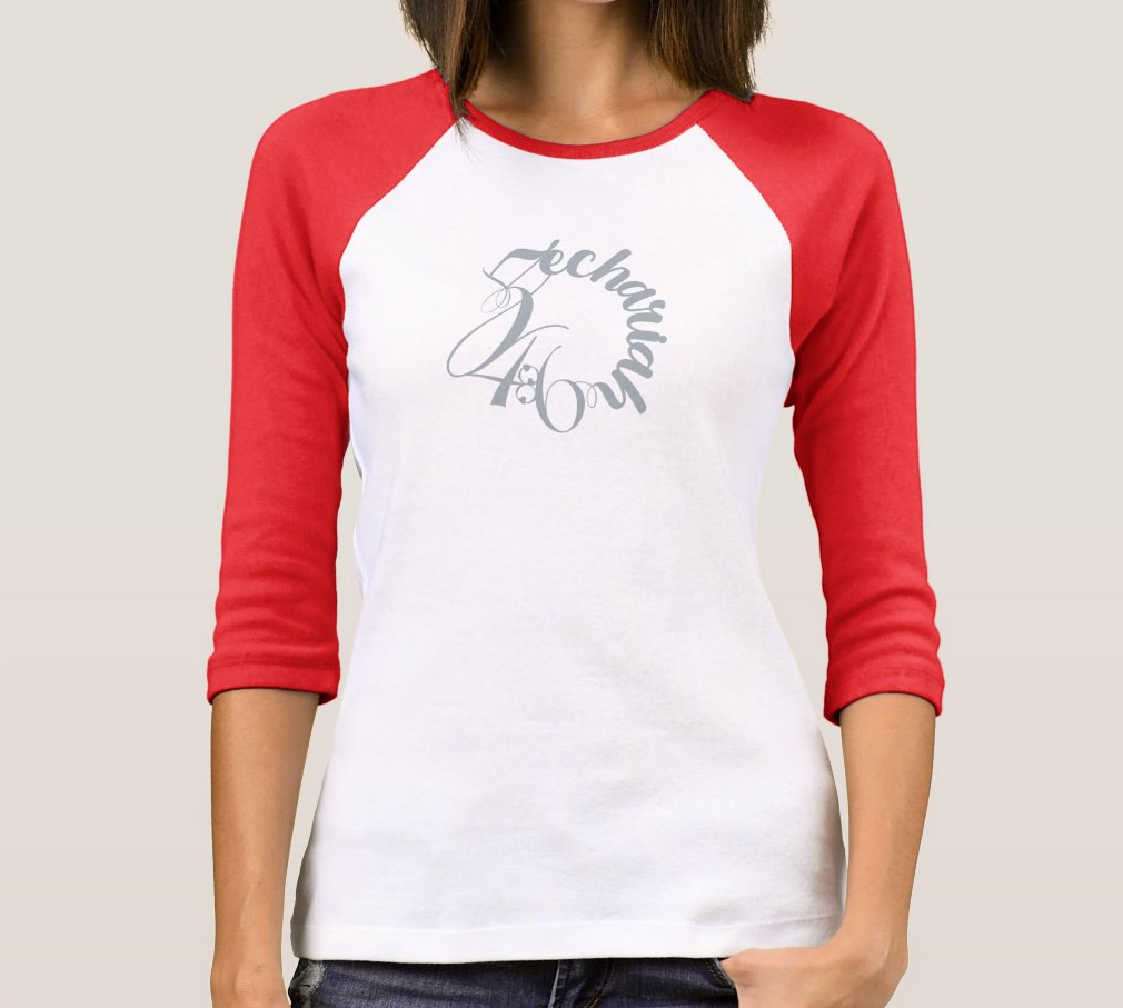 Zechariah 4:6 Ladies Ball Shirt