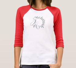 Zechariah 4:6 Ladies Ball Shirt