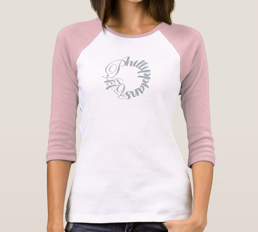 Phillippians 4:7-9 Ladies Ball Shirt