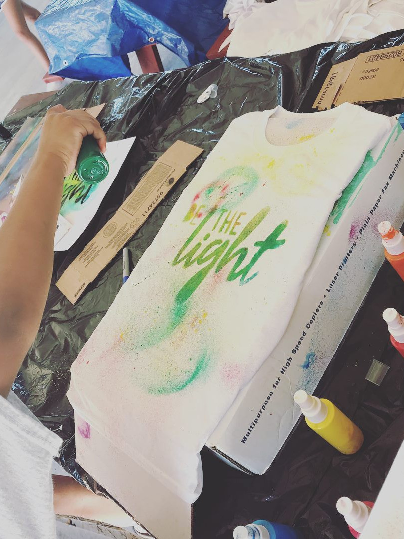 Be the Light Campaign Kickoff 2018 T shirt