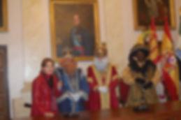 Reyes 2010 con la Alcaldesa Carmen Heras