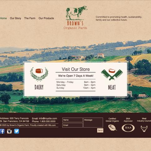 Brown's Organic Farm