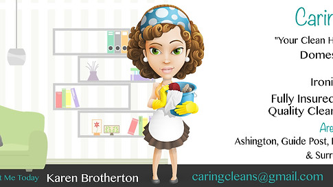 Caring Clean - Facebook Banner
