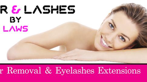 Laser & Lashes - Facebook Banner