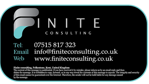 Finite Consulting - Email Signature