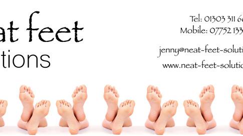 Neat Feet Solutions - Facebook Banner