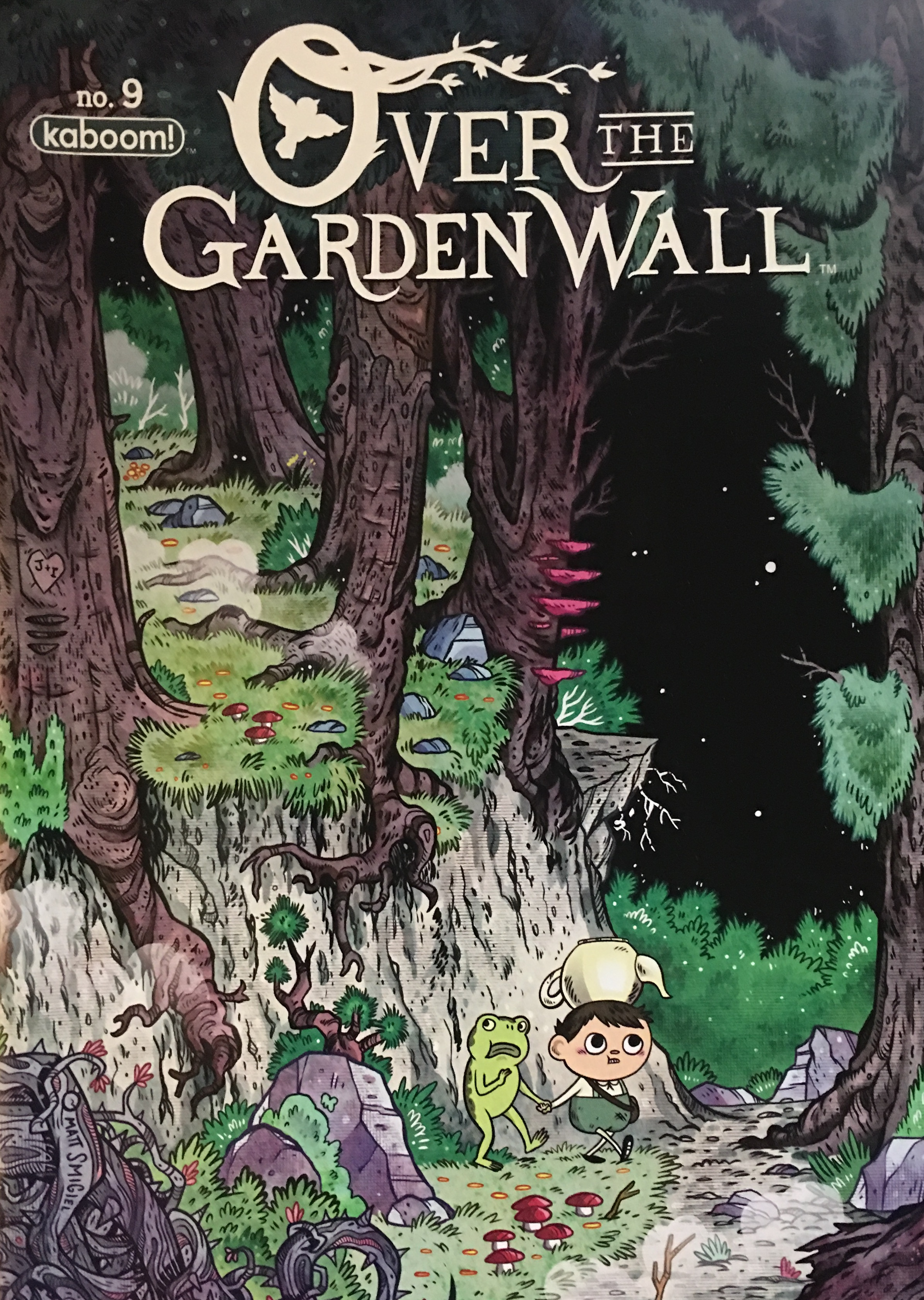 Over the Garden Wall issue 9
