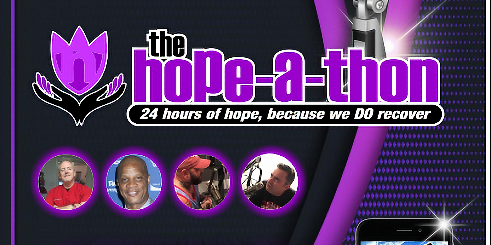 The Hope-a-thon & Virtual Recovery Walk