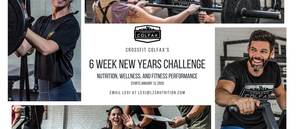 6 WEEK NUTRITION CHALLENGE