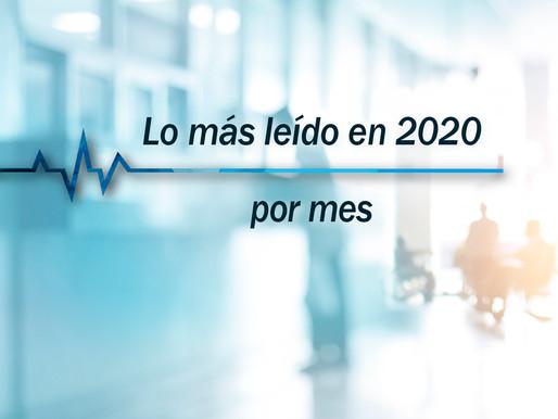 Los 5 artículos más leídos por mes, Noticiero Médico 2020