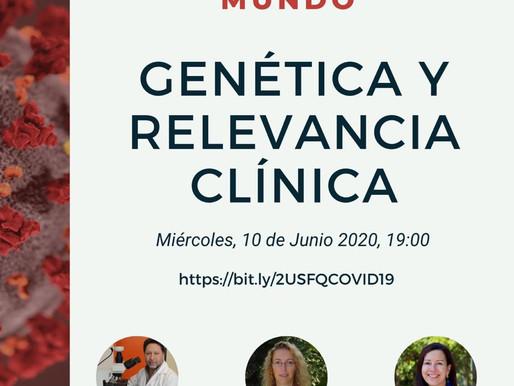 COVID19 en el Ecuador y el mundo Genética y Relevancia clínica