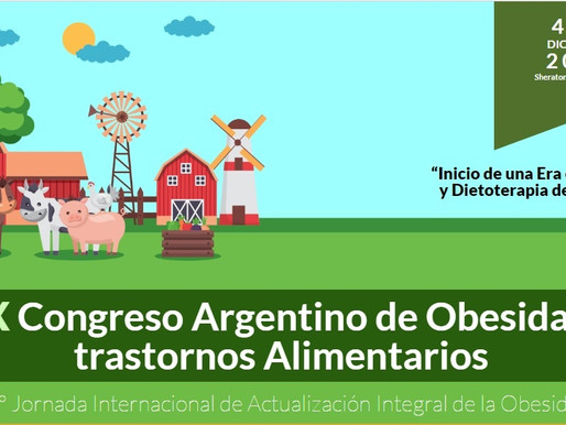 XIX Congreso Argentino de Obesidad y Trastornos Alimentarios