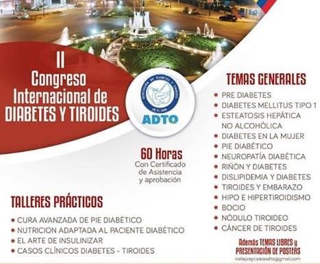 II CONGRESO INTERNACIONAL DE DIABETES Y TIROIDES