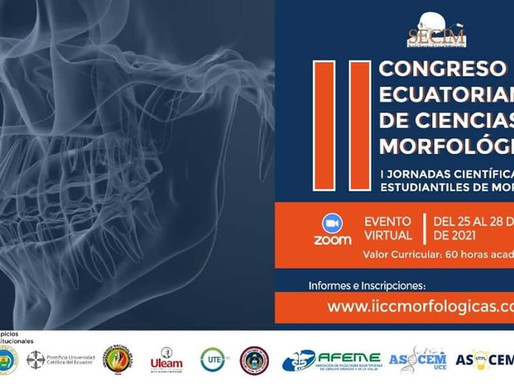 II Congreso Ecuatoriano de Ciencias Morfológicas