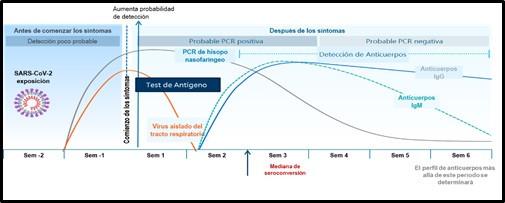 Test diagnósticos SARS-CoV2: Interpretación y recomendaciones de uso