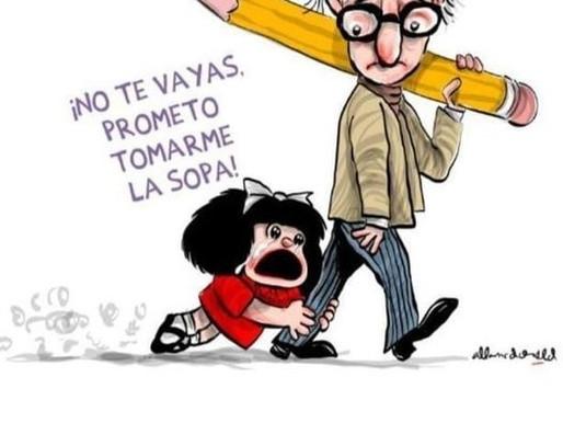 Fallece Quino, creador de Mafalda