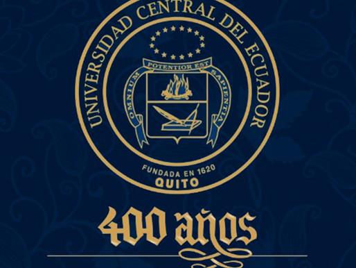 Universidad Central del Ecuador cumple 400 años de labor académica