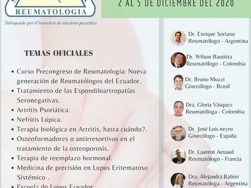 XVIII CONGRESO VIRTUAL ECUATORIANO DE REUMATOLOGÍA
