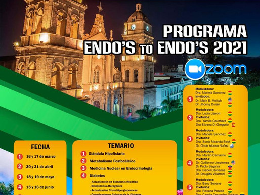 SOCIEDAD BOLIVIANA DE ENDOCRINOLOGÍA METABOLISMO Y NUTRICIÓN