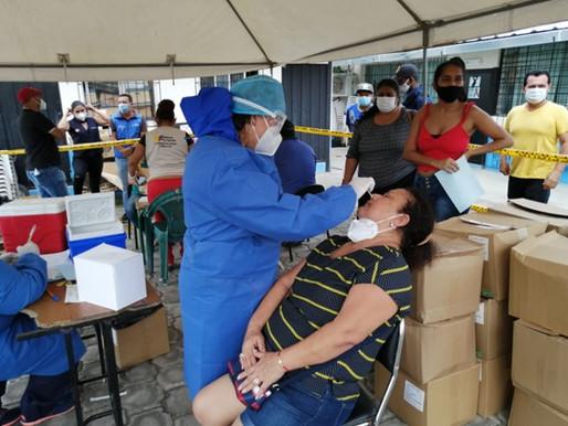 Alianza estratégica frente al covid: Distrito de Salud Muisne Atacames y Fundación Raíz Caemba
