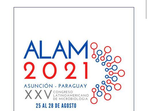 Extensión plazo envío de resúmenes: XXV Congreso Latinoamericano de Microbiología (ALAM)
