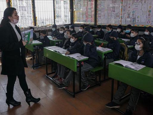 Transmisión de aerosoles de SARSCoV2 en escuelas