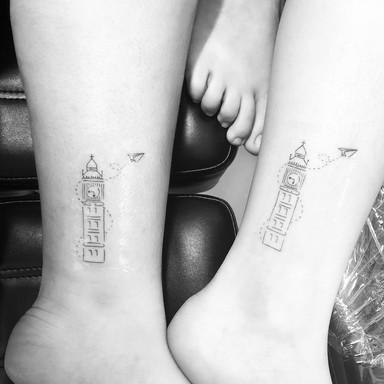 Big Ben - Le Spilla Tattoo - Cotia Granja Viana SP