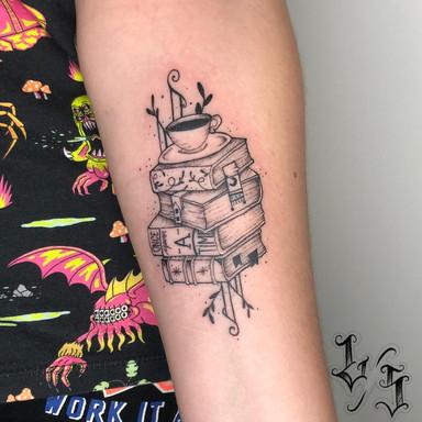 Livros - Le Spilla Tattoo - Cotia Granja Viana SP