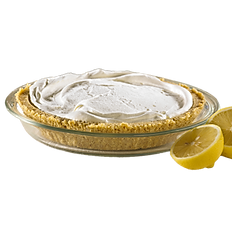 Lemon Ice Box Pie 10""