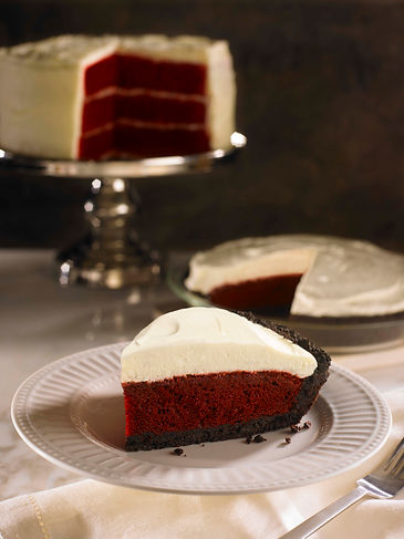 Kenny's Red Velvet 10inch SLICE with Cru