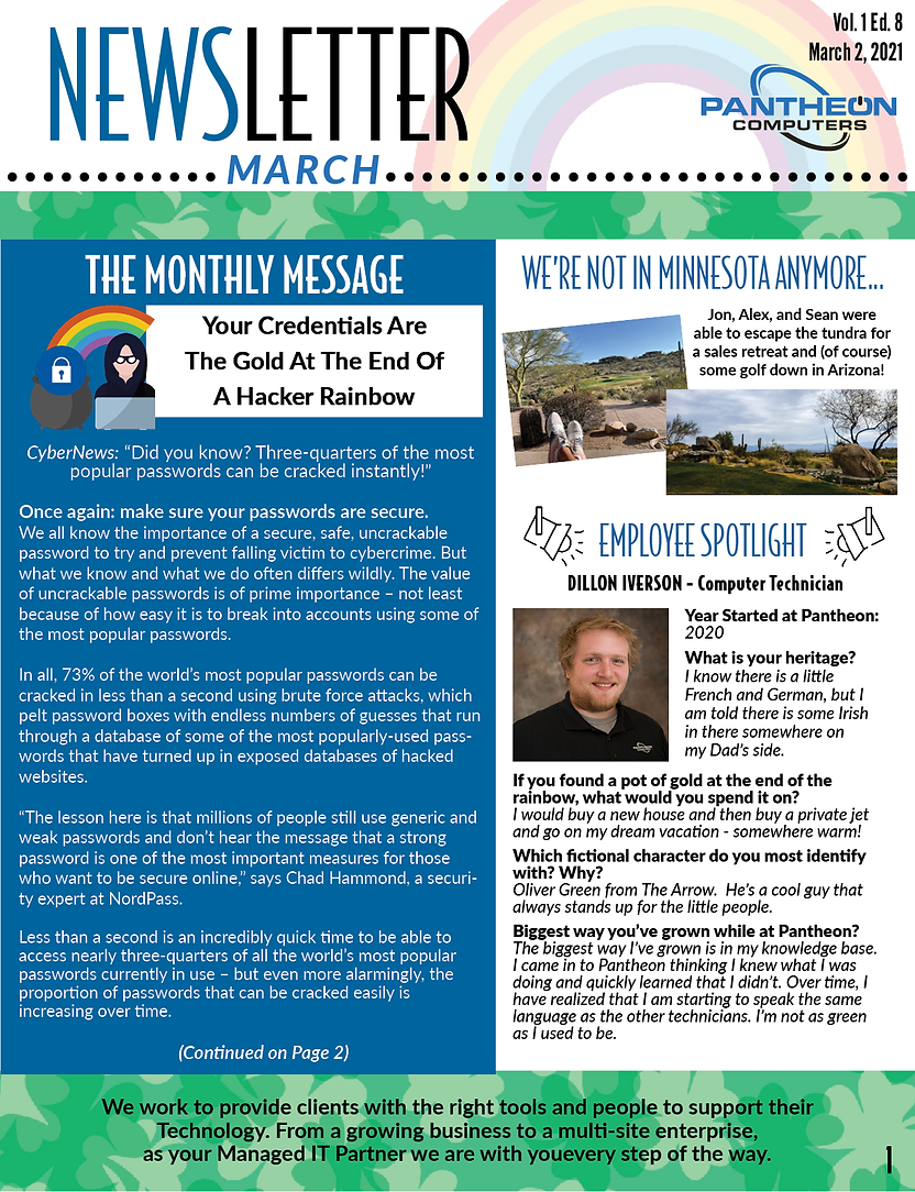 Newsletter - March Pantheon.png