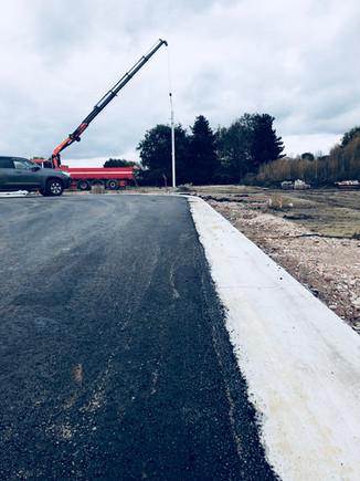 Start bouw bedrijfsunits bedrijvenpark Triphon Zelzate