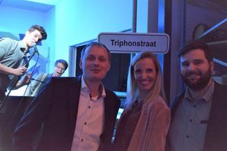 """Triphonstraat is nieuwe toegang tot bloeiende KMO-zone in Karnemelkpolder: """"Ons verhaal bewijst dat"""