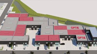 Fase 2 Triphon bedrijvenpark 40 % uitverkocht
