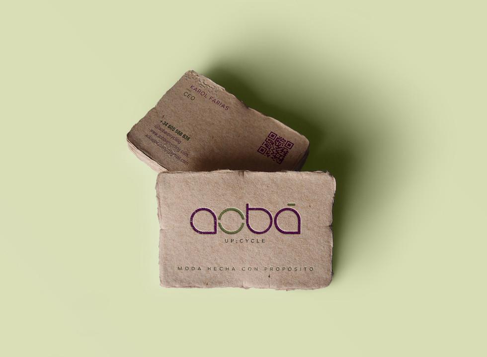 Brand   Cliente: Aobá Upcycling