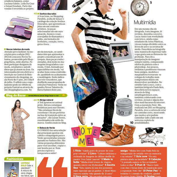 Periódico Correio, 06/2011