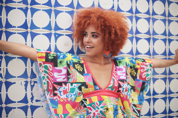 Fashion Design: Karol Farias Foto: Rayana Azevêdo Modelo: Giedre Assis