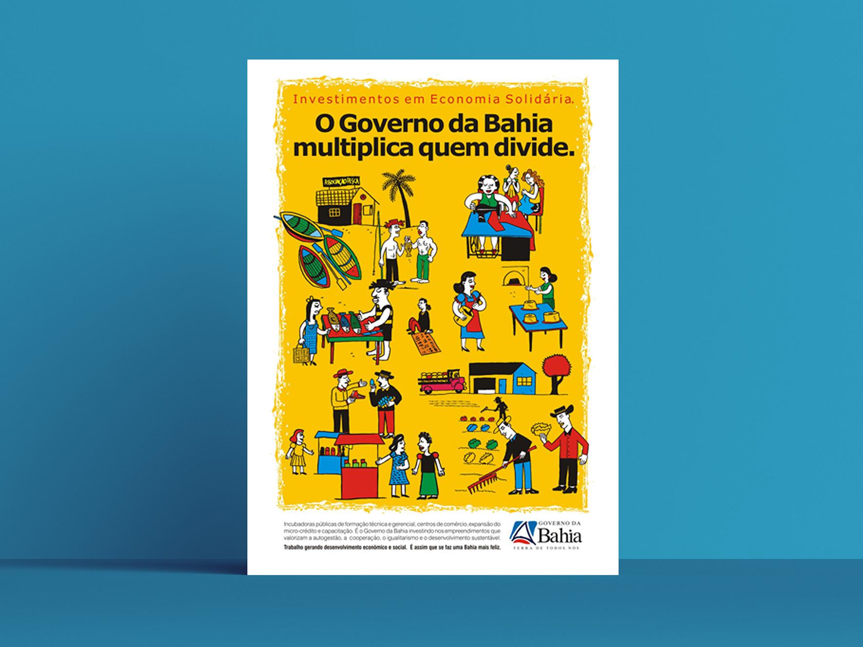 Poster  Cliente: Gobierno de Bahía
